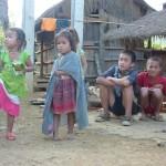 Enfants Hmong à Muang Xa