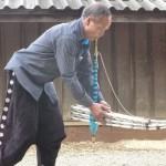 Khaene Hmong (Rab Qeej Hmoob) - Instruments de musique traditionnel Hmong ayant la particularité d'être en metal plutot quand Bambou