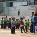 Cours d'école de Phaya Phi Phat, Village Hmong