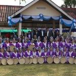 Danseuses du village de phayaphik phak thailande